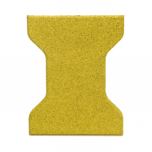 Piso de Borracha Tipo Ossinho 20x16cm 30mm